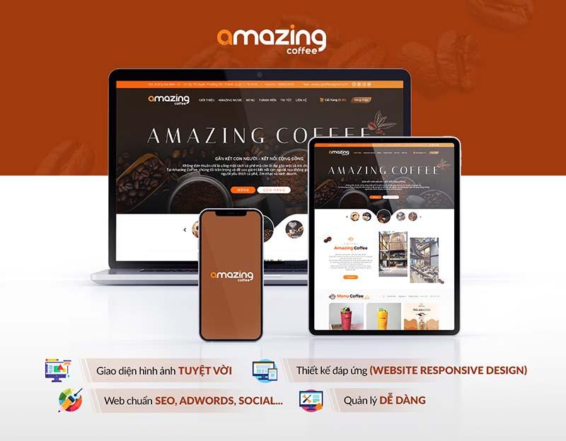 Amazing Coffee -  Gắn kết cộng đồng yêu thích cà phê